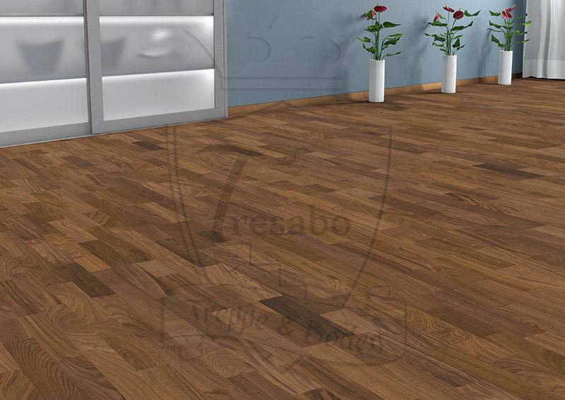 amerikanischer nussbaum exquisit lackiert nut feder schiffsbod 523812 tresabo. Black Bedroom Furniture Sets. Home Design Ideas